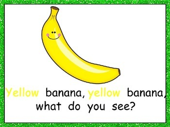 Red Apple What Do You See Shared Reading- Kindergarten- Colors and Fruits