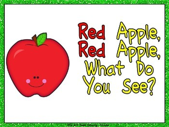 Red Apple What Do You See Shared Reading- Kindergarten- Co