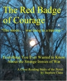 Red Badge of Courage Close-Reading Study Guide 18 pages