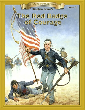 Red Badge of Courage RL3.0-4.0 flip page EPUB for iPads, i