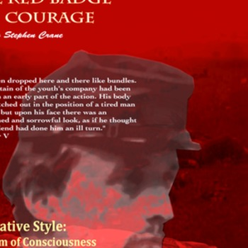 Red Badge of Courage Stream of Consciousness poster