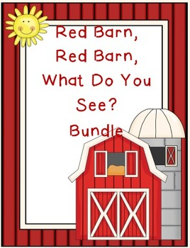 Red Barn What Do You See Bundle
