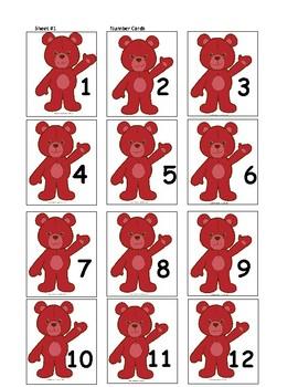 Bear Number Matching