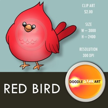 Red Bird Clip Art
