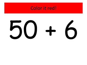 Red Bird Expanded Notation (Watch, Think, Color!)