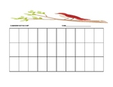 Red Bird Seating Chart Template for the Music Classroom