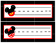 Red, Black, Yellow & White Disney - Mouse Inspired Classroom Decor Packet