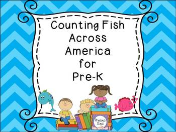 Red Blue One Two: Counting Fish Across America {Precious Steps Preschool}