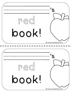 The Red Book - Easy Sight Word Reader