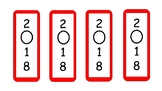 Red Bookmarks 2018