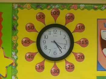 Red Bubble Gum Clock Minute Pointers
