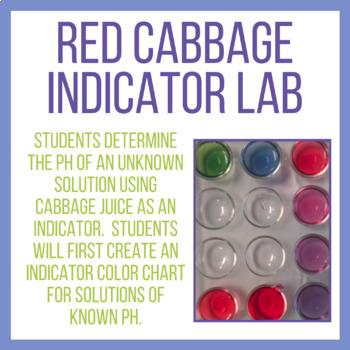 Red Cabbage Indicator Lab