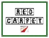 Red Carpet Hollywood behavior clip charts