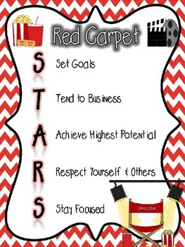 Red Carpet STARS Guidelines and Rules