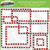 Checkered Borders & Frames Bundle