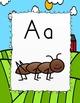 Farm Theme Alphabet Posters