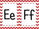 Red Chevron Alphabet (large)