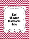 Red Chevron Classroom Jobs