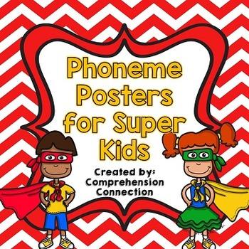Phoneme Posters: Red Chevron