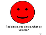 Red Circle, Red Circle, What Do You See? Shapes and Colors - FREE