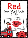 Red Color Book