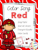 Red Color Song {A Mini-Unit)