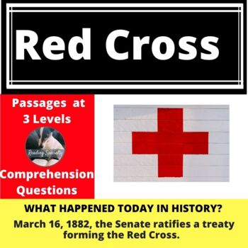 Red Cross Differentiated Reading Passage March 16