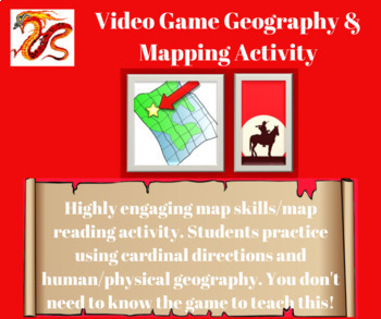 Geography and Mapping: Red Dead Redemption 2 Activity