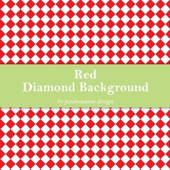 Red Diamond Background