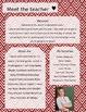 Red Diamond Meet The Teacher Template **Editable**