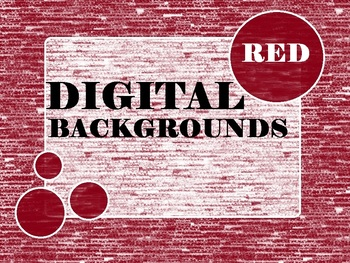 Red Digital Backgrounds