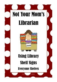 Red Dot Library Shelf Sign Collection