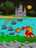 Red Dragon  Behavior Rewards Chart for Kids