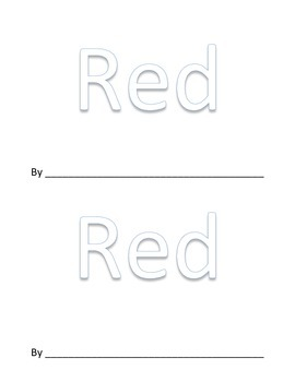 """Red"" Emergent Reader"
