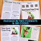Red Eyed Tree Frog: Informational Article, QR Code Research & Fact Sort