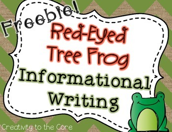Red-Eyed Tree Frog Informational Writing