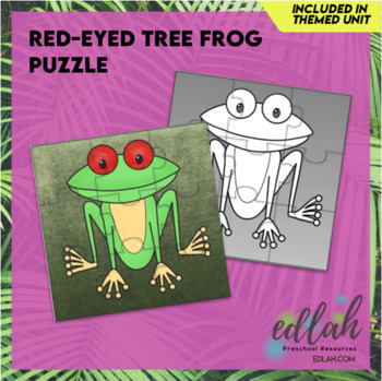 Red-Eyed Tree Frog Puzzle