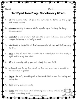 Red-Eyed Tree Frog - Supplements