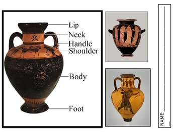Red Figure Pottery Worksheet