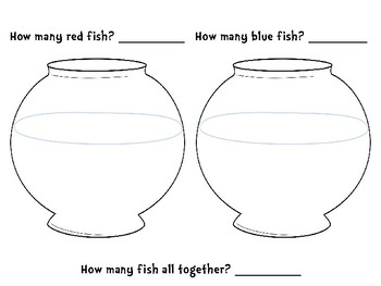 Red Fish, Blue Fish Addition Game