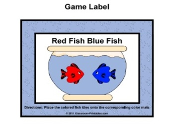 Red Fish Blue Fish Color Sort