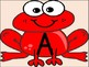 Red Frog Alphabet Letter Posters / Word Wall Headers