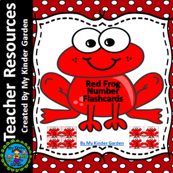 Red Frog Math Number Flashcards 0-100