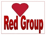 Red Group Sign
