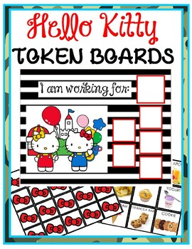 Red Hello Kitty Token Boards