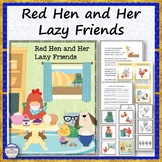 Red Hen and Her Lazy Friends Rhyme, Quiz, Sequence and Fil
