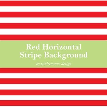 Red Horizontal Stripe Background