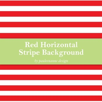 Red Horizontal Stripe Background