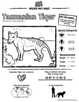 Tasmanian Tiger 10 Resources