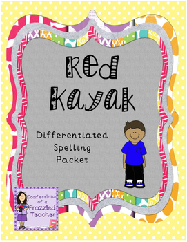 Red Kayak Differentiated Spelling (Scott Foresman Reading Street)